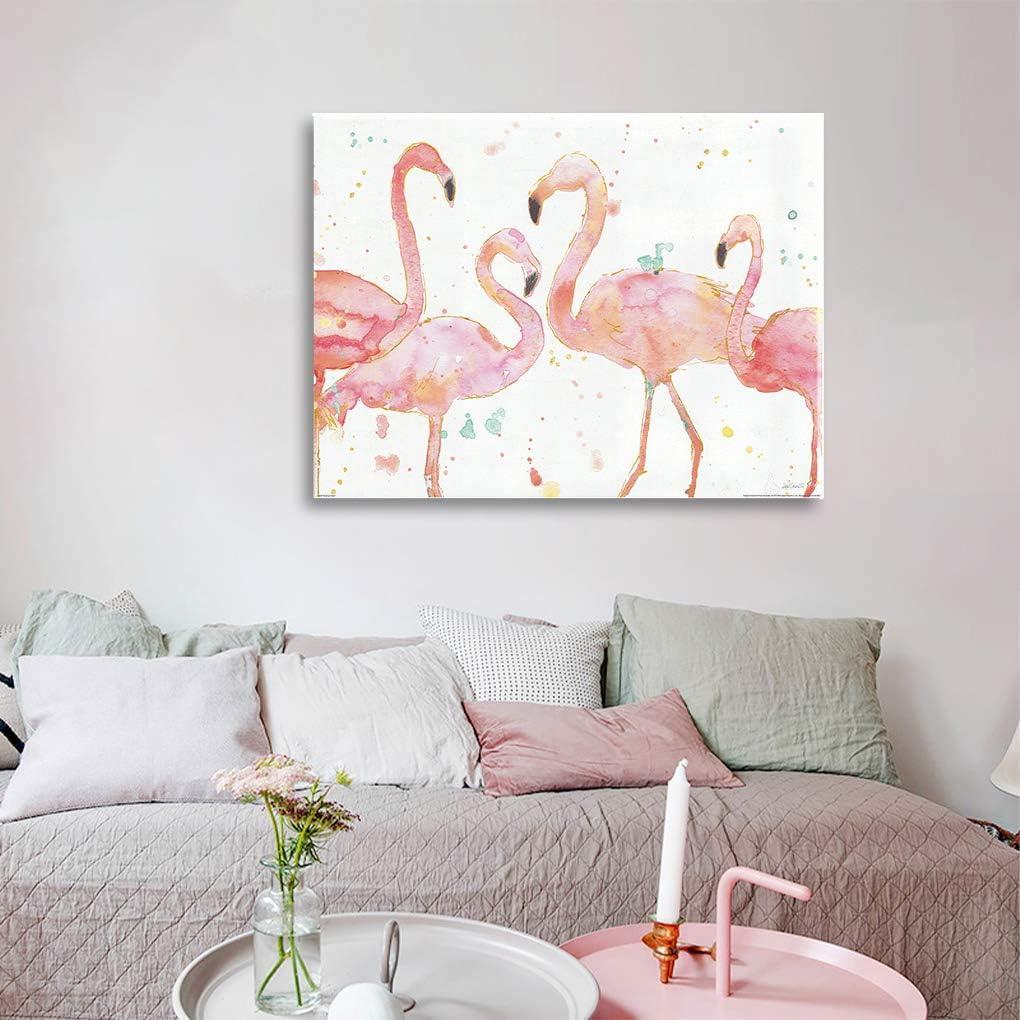 Tenacitee Wanted Poster Flamingo Raw Edge Canvas Messenger Bag