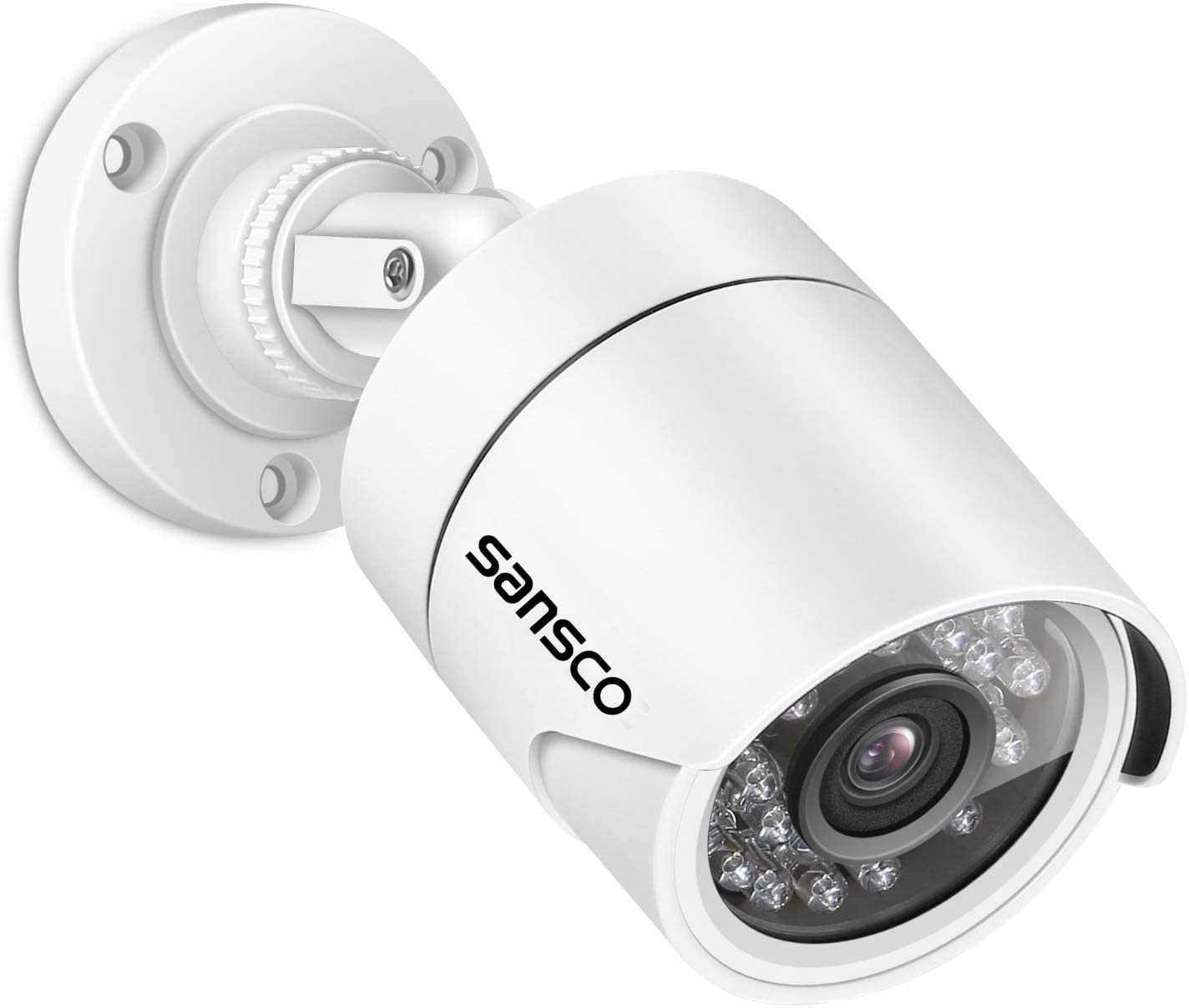720p AHD CCTV wired HD camera outdoor security waterproof WIDE ANGLE  lens