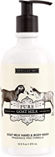 product image for Beekman 1802 - Hand & Body Wash - Pure Goat Milk - Multipurpose Goat Milk Wash for Soft Skin & Washing Away Impurities - Cruelty-Free Bodycare - 12.5 oz