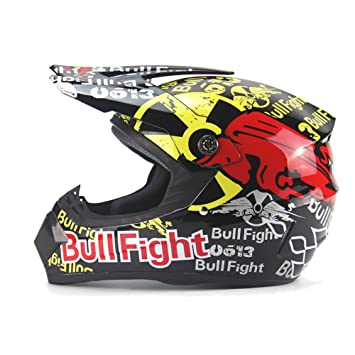 DUEBEL Bull Fight Cascos Integrales BMX/MTV/Cross Country, Cascos de Motocross (