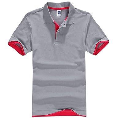 Camisa De Polo De Gran Tamaño De Verano Mode De para Hombre Marca ...
