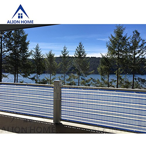 Cheap  Alion Home Mediterranean Style Privacy Screen For Pool, Porch, Patio, Deck, Balcony,..