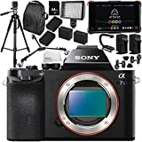 Sony Alpha a7S Mirrorless Digital Camera with Atomos Ninja Flame 7 4K HDMI Recording Monitor 15PC Accessory Bundle – Includes Deluxe Backpack + MORE