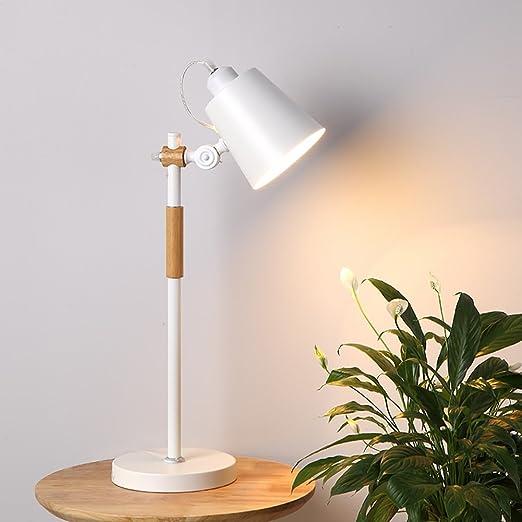 Lámpara de mesa nórdica ajustable Lámpara de escritorio Sala de ...