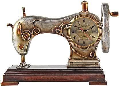 Clock Health UK Reloj de resina de 8 pulgadas Máquina de coser ...