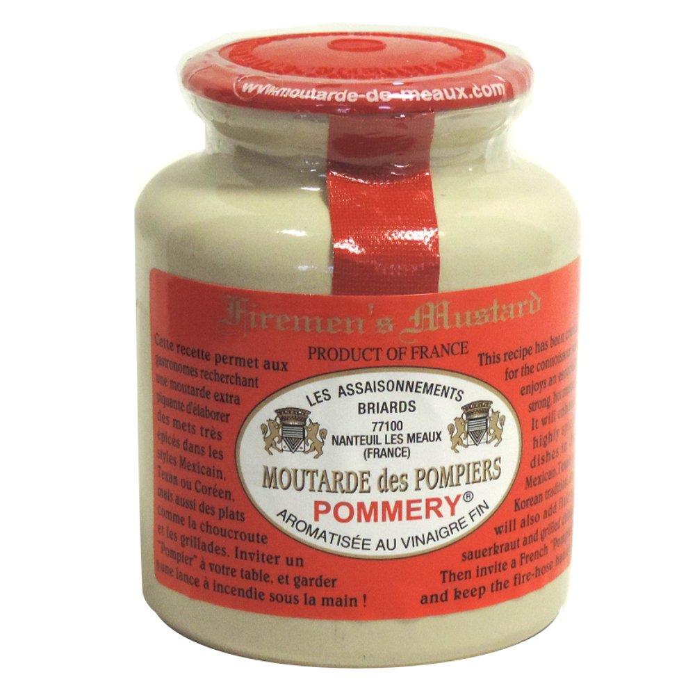 Moutarde de Meaux - Fireman's Mustard - Moutarde des Pompiers Pommery - 250g