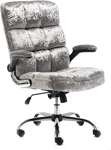 ALEKO ALC3288SI Upholstered Fabric Luxury Office Chair