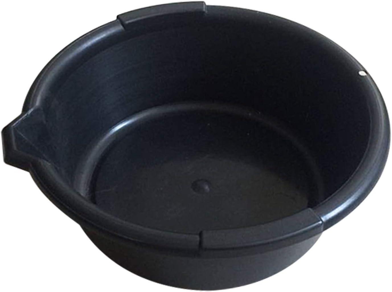 Bac de r/écup/ération d/'Huile avec Bec verseur 6 litres Capacit/é /Ø 32cm Carter Collecteur Huiles