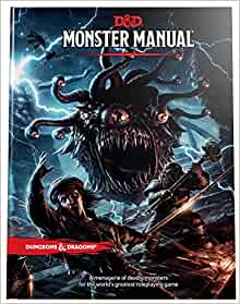 Monster manual dd core rulebook wizards rpg team 8601410683740 flip to back flip to front fandeluxe Gallery