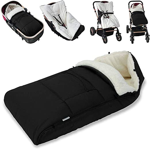 Baby Toddler Universal Footmuff Cosy Toes Apron Liner Buggy Pram Stroller New K4