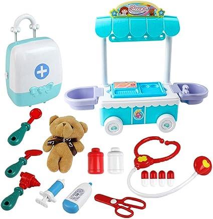 Pretend and Play Kids Children/'s Doctor Set Child