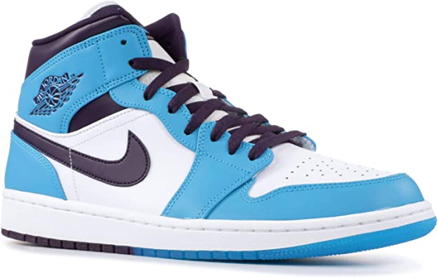 air jordan 1 mid bleu