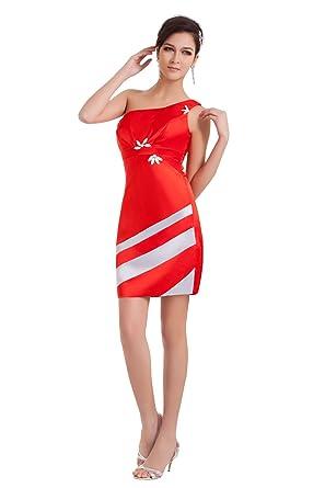 e15b6cc989e45  Wonderfulドレス 花ビーズ ミニドレスワンピース スカート 赤 ショートドレス レッド パーティー ドレス