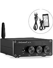 nobsound Mini 200W (100W × 2) Bluetooth 4.2TPA3116Digital Amplifier Hi-Fi Estéreo Class D Power Amp Amplificador with Power Supply