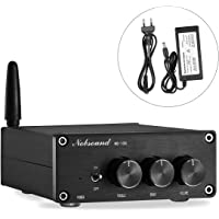 nobsound Mini 200 W (100 W × 2) Bluetooth 4.2 TPA3116 Digital Amplifier Hi-Fi Estéreo Class D Power Amp Amplificador with Power Supply