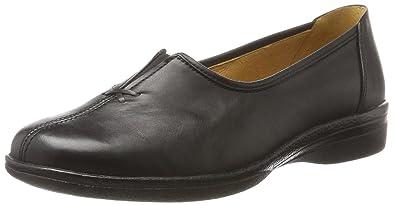 Gabor Shoes Comfort Basic, Derbys Femme, Noir (67 Schwarz), 38 EU