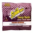 Sqwincher Electrolyte Chews, Fortified Energy Burst Pouch, Black Cherry 010372-BC 7 (Box of 12)