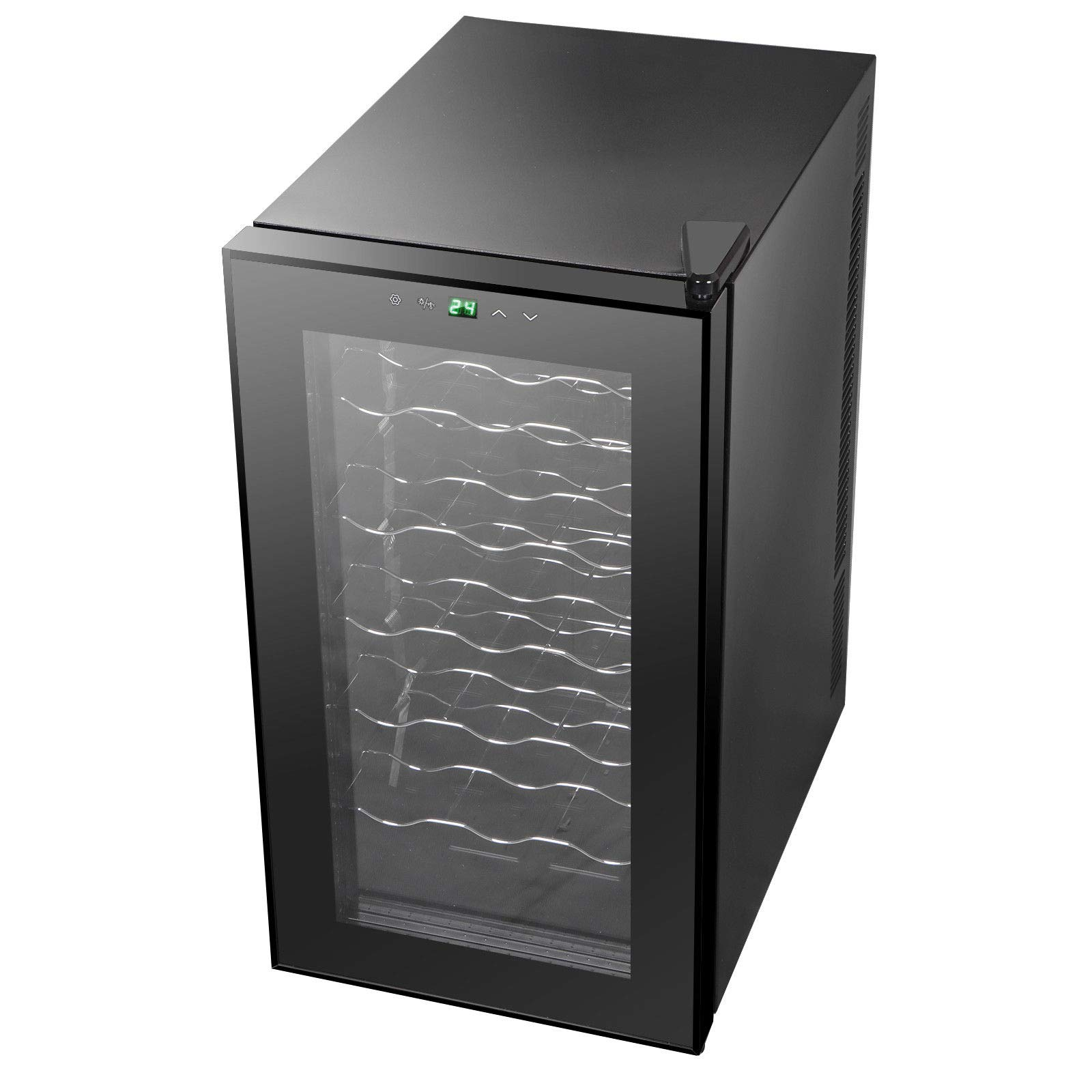 AK Energy 18 Bottles Wine Cooler Refrigerator Air-tight Seal Quiet 50-64 F Temperature Control by AK Energy (Image #4)