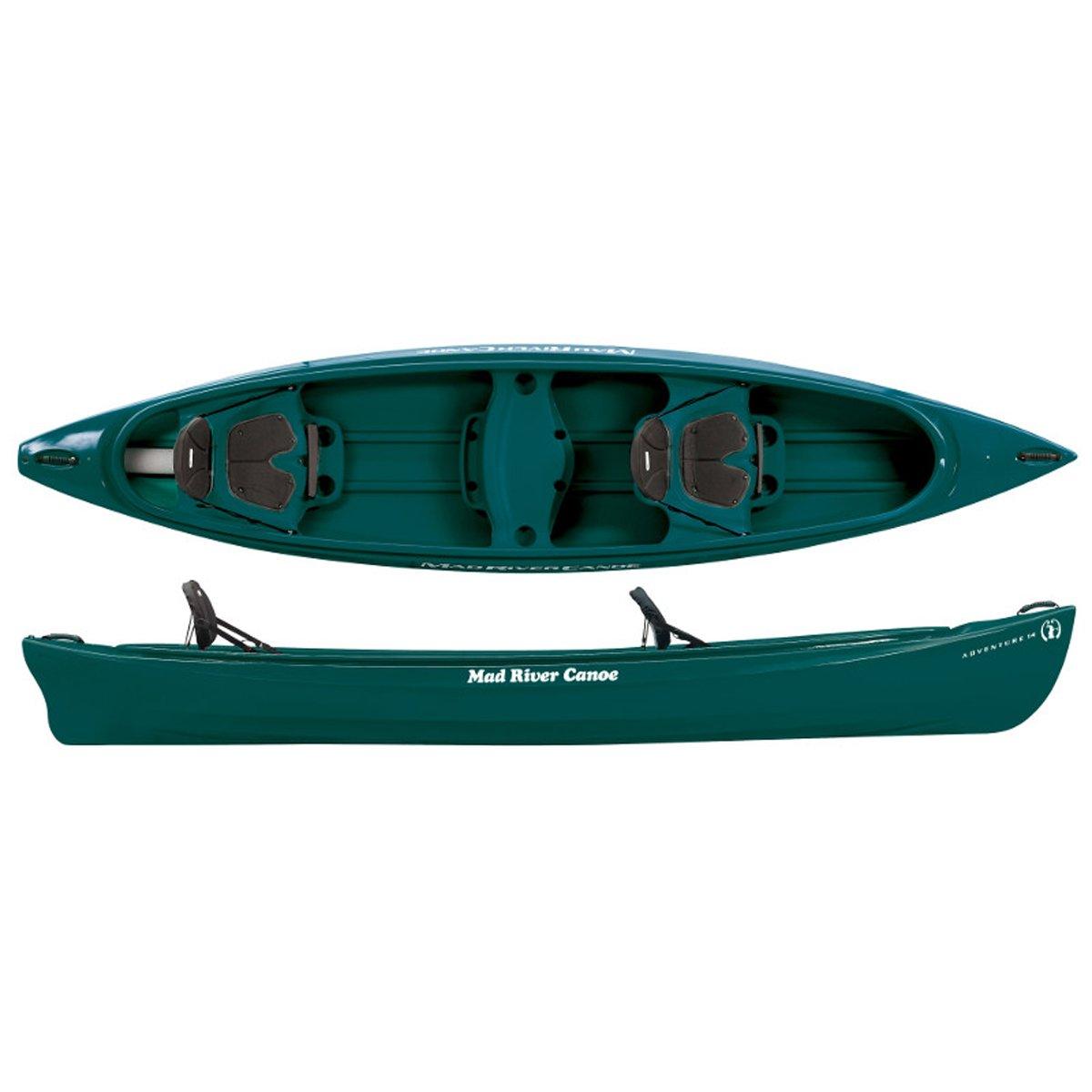 Mad River Adventure 14 Canoe - Spruce