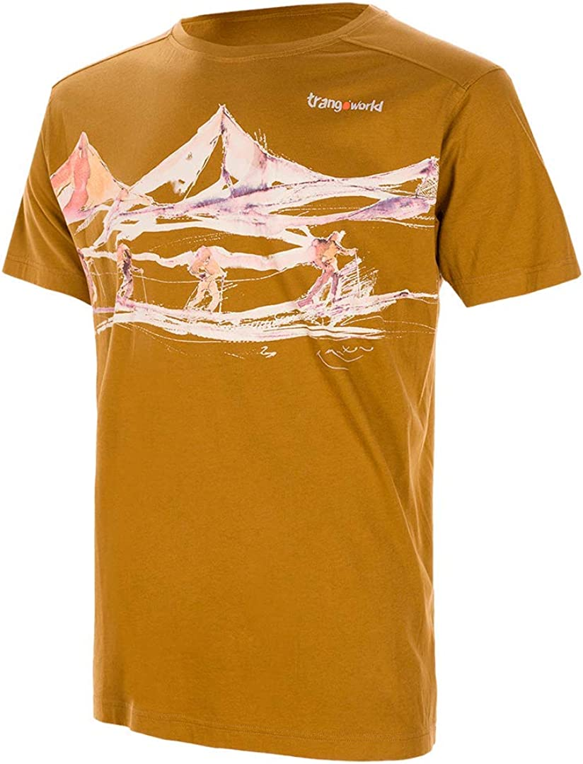 TRANGOWORLD Across The Glacier Short Camiseta Hombre