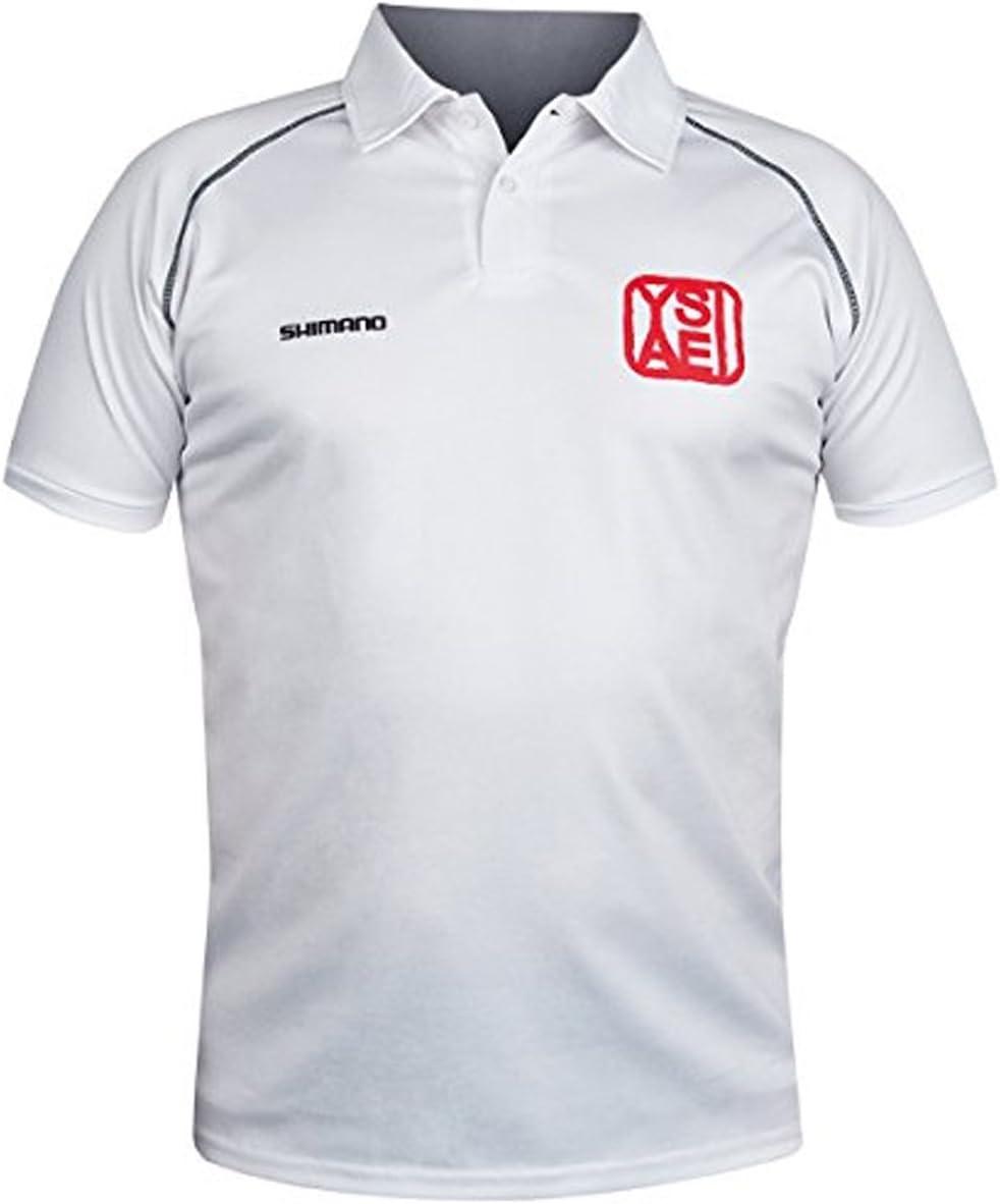 Shimano Yasei Polo ShirT-camiseta Gr, m: Amazon.es: Deportes y ...