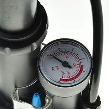 Mini Bomba de Aire de Alta presión Bici neumático Neumático Piso ...