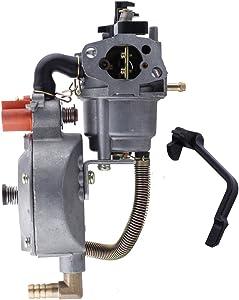 Hipa Generator Dual Fuel Carburetor LPG NG Conversion kit 2.8KW GX200 170F Manual Choke