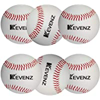 KEVENZ 6-Pack Competition Grade Baseballs Training Baseball