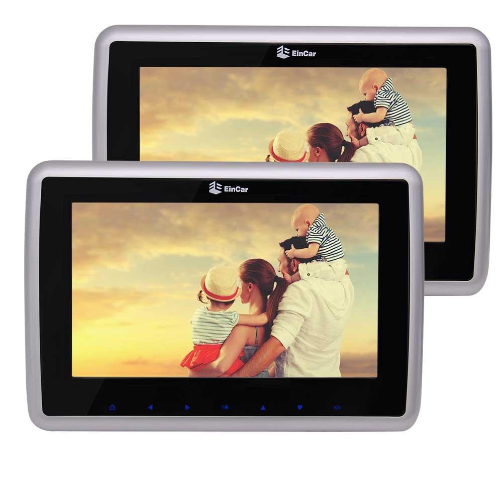 10.1インチ型TFT LCDスクリーン ヘッドレストDVDプレーヤー HD高解像度 取り外し可能なデザイン 2 Din 1024x800高画質バックシートモニター 画面タブレットスタイル カーエンターテイメントシステム サポート1080Pビデオ FMトランスミッター AV入力&出力 2個セット(ブラック)10.1インチ型TFT LCDスクリーン ヘッドレストDVDプレーヤー HD高解像度 取り外し可能なデザイン 2 Din 1024x800高画質バックシートモニター 画面タブレットスタイル カーエンターテイメントシステム サポート1080Pビデオ FMトランスミッター AV入力&出力 2個セット(ブラック) B072WV4P5Z