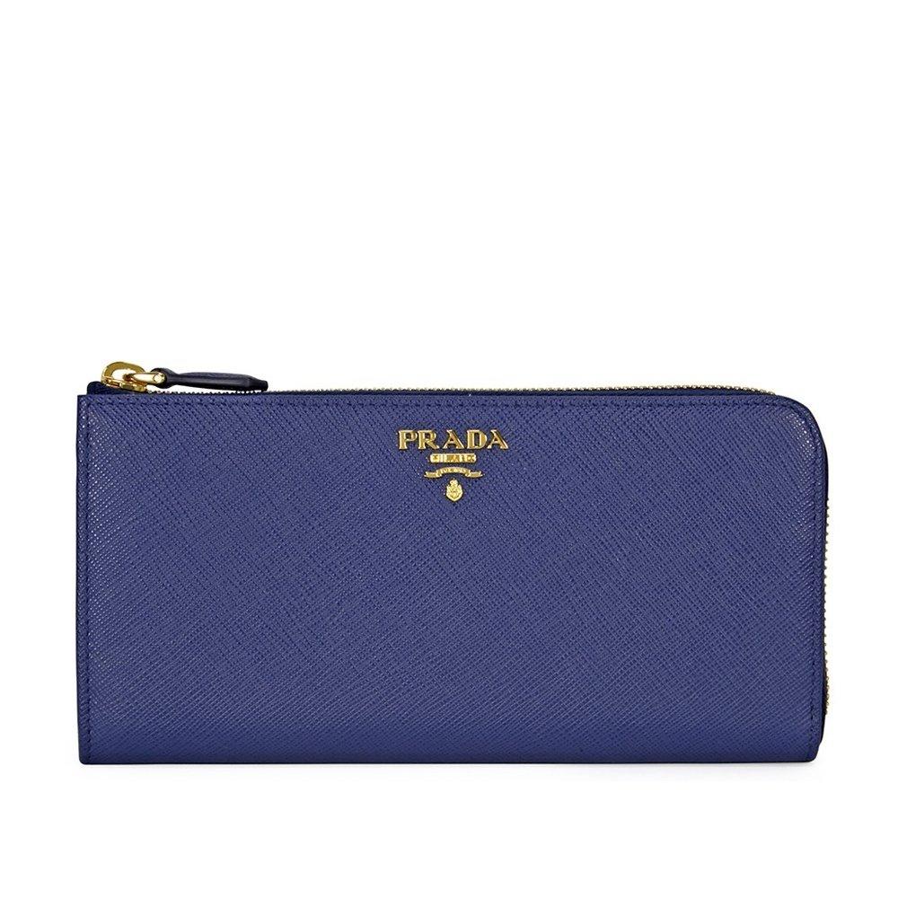2514f65916aa Prada Saffiano Leather Wallet - Bluette: Amazon.ca: Watches