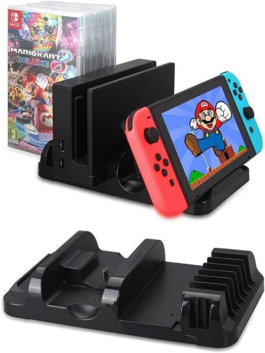 VPRAWLS - Soporte de Carga para Nintendo Switch Joy-con: Amazon.es: Hogar