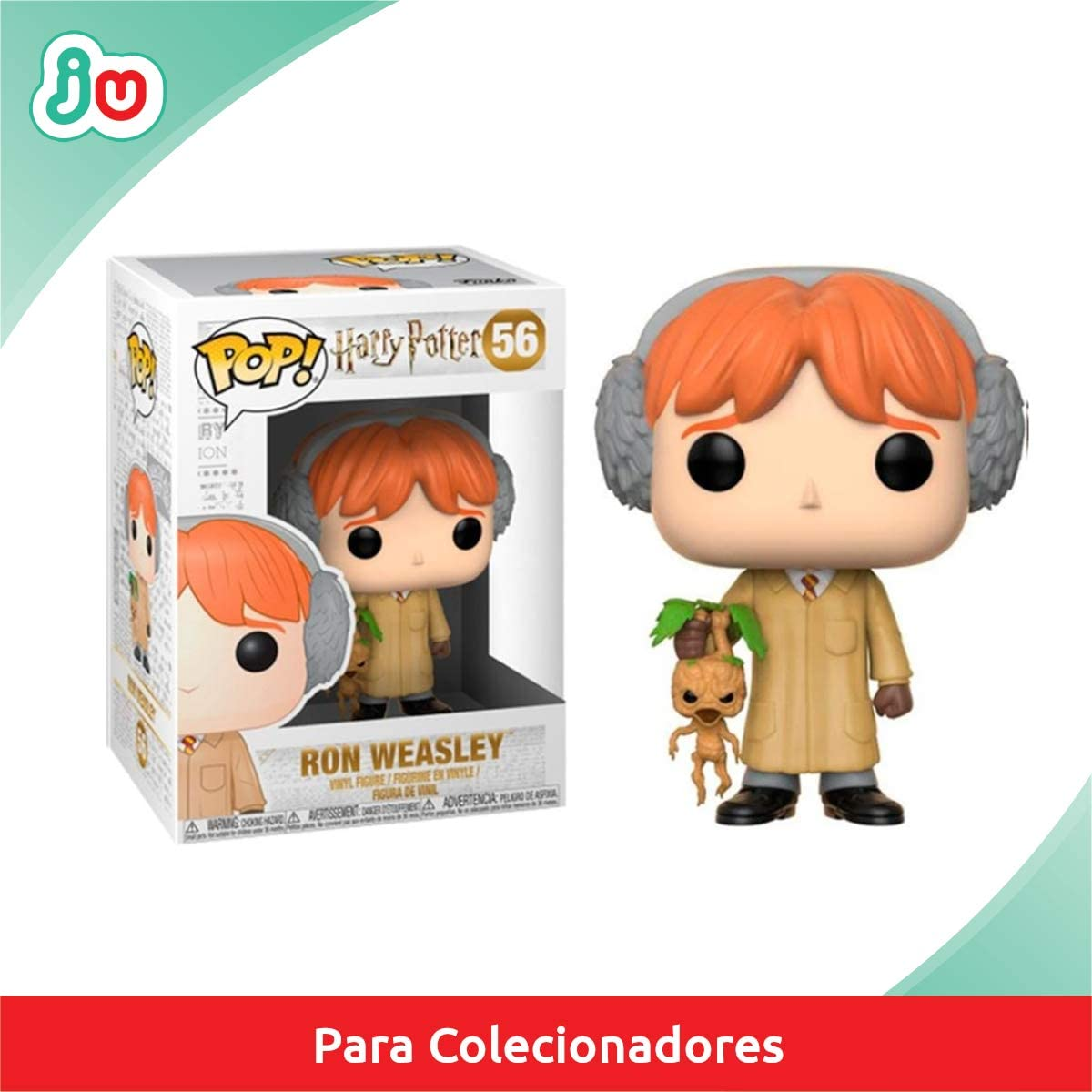 Funko Pop! - Ron Herbology Figura de Vinilo 29501: Amazon.es ...