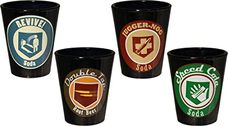 Call of Duty Ops III Perks Shot Glass, Set of 4