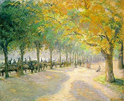 Pissarro Camille Hyde Park London 100% Hand Painted Oil Paintings Reproductions 48X72 Inch