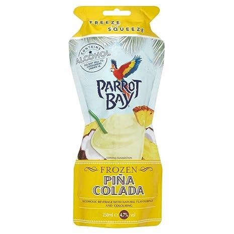 Parrot Bay Piña Colada Cocktail - Bebida Alcohólica con Aromas Naturales - 25 cl