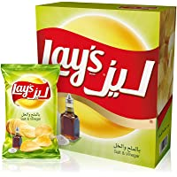 Lay's Salt & Vinegar Potato Chips 23 gm x 14