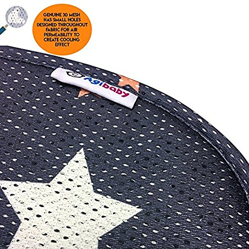 Handmade and Hypoallergenic Agibaby INFANT Premium 3D Mesh Cool Seat Liner//Pad//Cover//Protector For Stroller//Car Seat