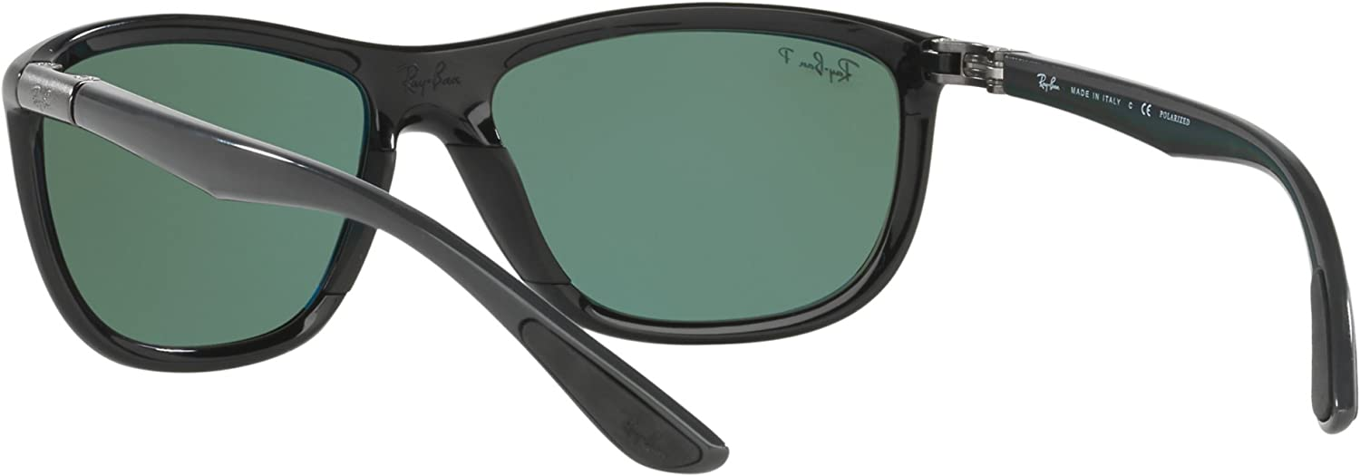 RAYBAN RB8351 62199A POLARIZZATA 60 MM: Amazon.it: Bellezza