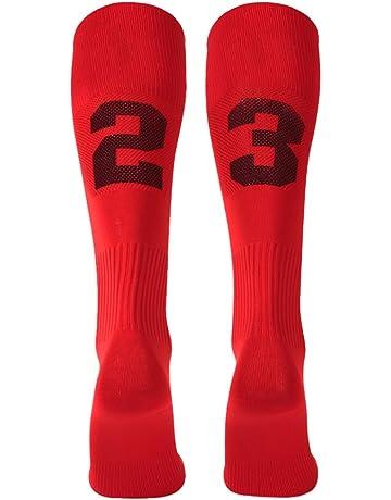 e8c51831d9b2 Custom Team Number Knee High Socks Athletic Socks by 3street Soccer Socks  Choose Your Number