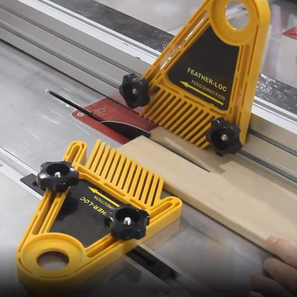 Mehrzweckwerkzeuge Set Doppel Featherboards Tischsaegen Router Tische Zaeune Elektrische Kreissaege DIY Fuer Holzbearbeitungswerkzeuge Feather Boards