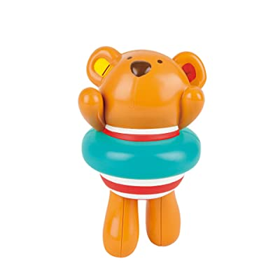 Hape Kids Little Splashers Swimmer Teddy Wind-Up Bath Toy: Toys & Games