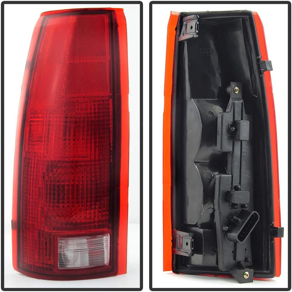 ACANII For 1988-1998 Chevy//GMC C10 C//K 1500 2500 3500 Silverado Yukon Suburban Tahoe Tail Lights Lamps w//Circuit Board