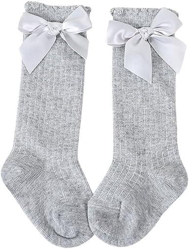 Girl Leg Warmers  Soft Cotton High Knee Sock Big Bow Long Socks Baby Sock