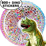 #7: Beestech 800 Pcs+ Dinosaur Stickers for kids, 46 Different Sheets of Stickers, Perfect Addition to Dinosaur Party Supplies Favors, Birthday Party Supplies,Reward Stickers, Stickers for Kids, Teachers
