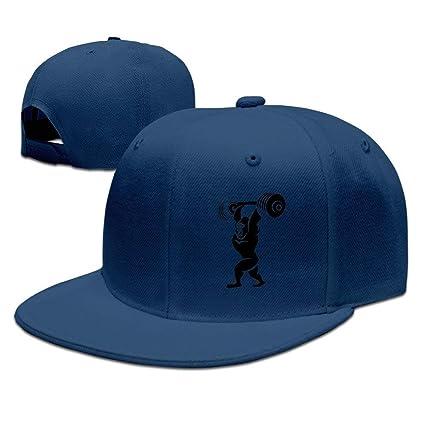 Nifdhkw Gorila de Levantamiento de Peso Rap Sombreros Gorras para ...