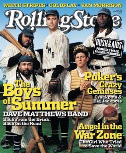 Rolling Stone Magazine # 976 June 16 2005 Dave Matthews Band (Single Back Issue) (Dave Band Matthews Stones Rolling)