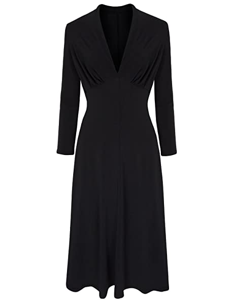 Love Camden Clásica para mujer 59131,2 cm s WW2 estilo Vintage negro suave e