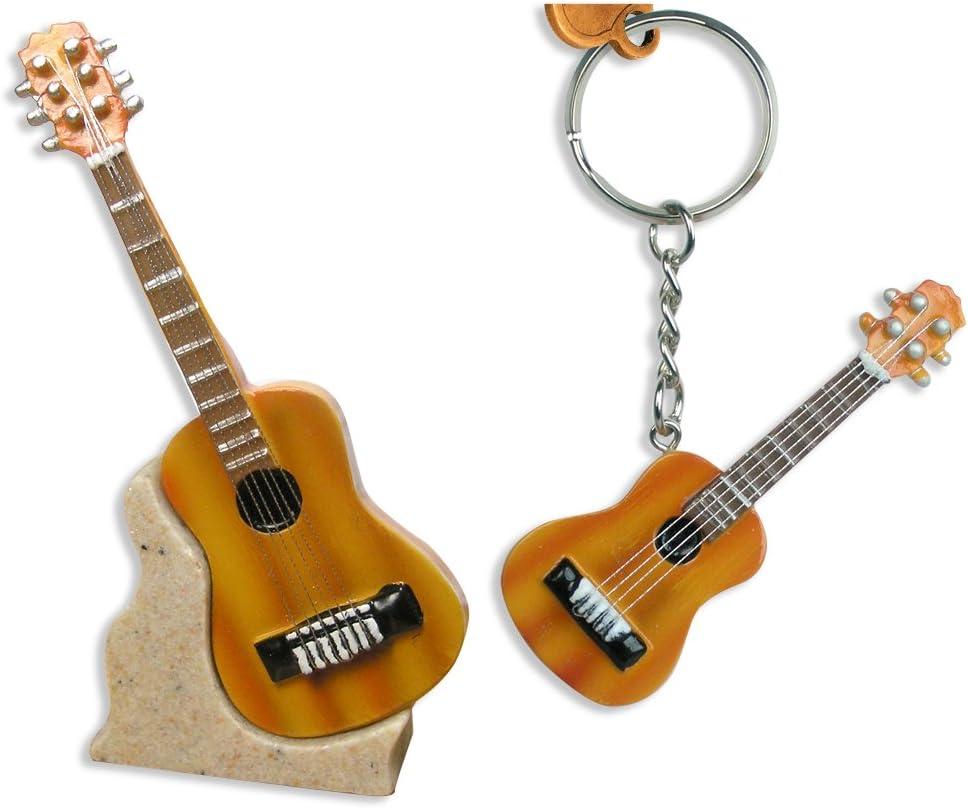 Banberry Designs Guitarra Regalos – acústica Guitarra en Miniatura ...