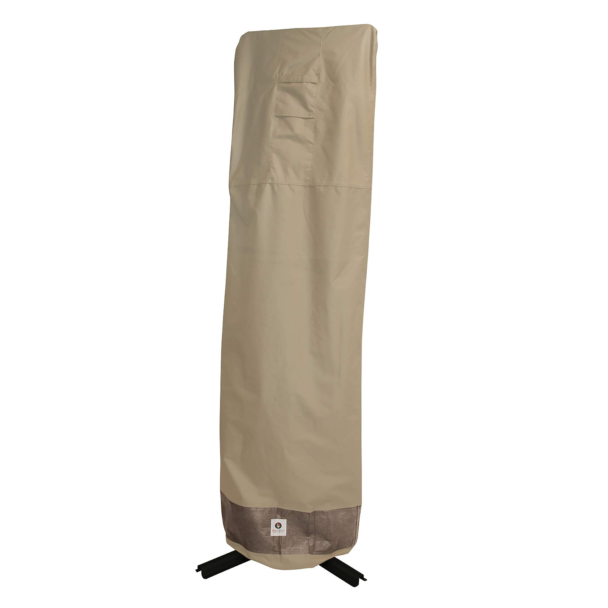 Duck Covers Elegant Offset Patio Umbrella Cover with Installation Pole, 101-Inch by Duck Covers (Image #9)