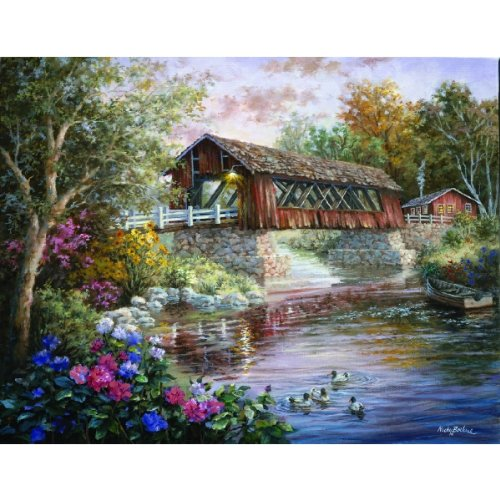 Sunsout Country Thoroughfare 1000+pc Jigsaw Puzzle by Nic...